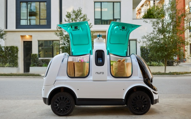 Nuro выпустит своих авто-курьеров в начале 2021 года