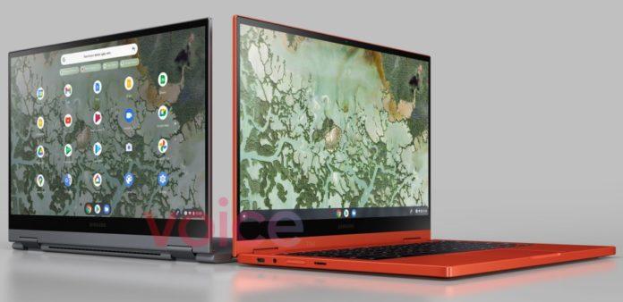 Первые изображения Galaxy Chromebook 2 появились в сети