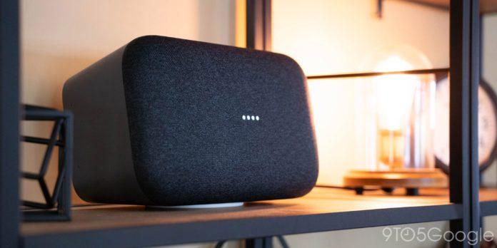 Google прекращает производство динамика Home Max