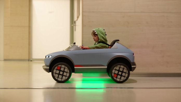 Hyundai представляет детский проект Mini 45