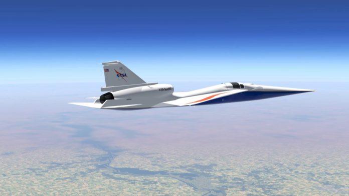 НАСА завершила построение крыла для истребителя X-59 SuperSonic