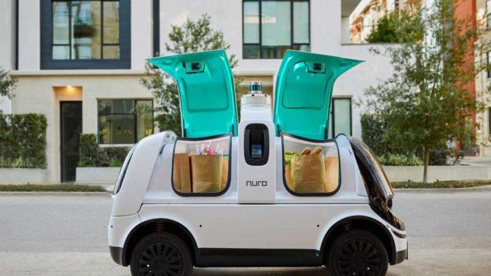 Компания Nuro занялась разработкой автономных доставщиков R2