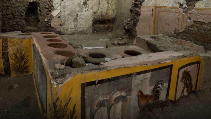 Итальянские археологи обнаружили необычный участок древней Помпеи