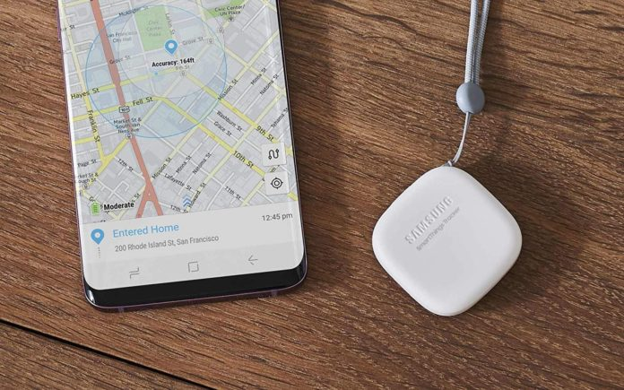 Samsung продолжает работу над датчиками Galaxy Smart Tag