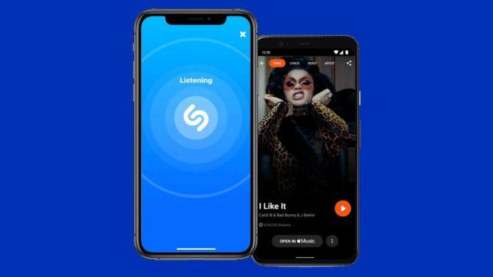 Shazam получает новый интерфейс, но не везде