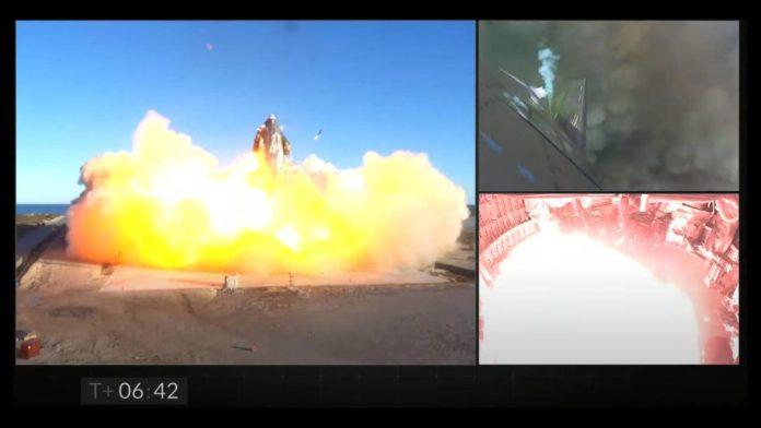 SpaceX успешно провел тест корабля Starship