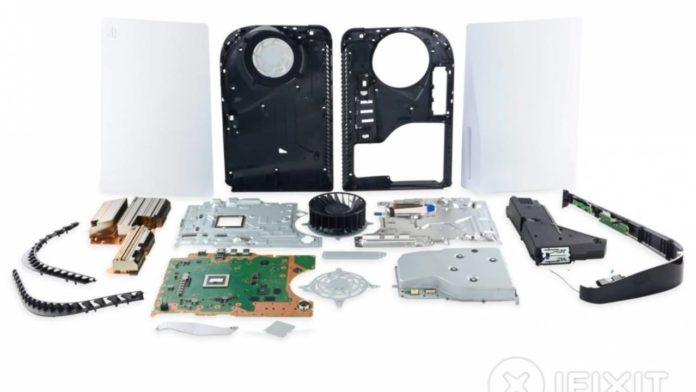Команда iFixit произвела детальную разборку консоли PlayStation 5