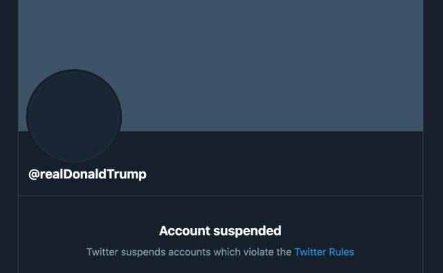 Twitter навсегда заблокировал Трампа