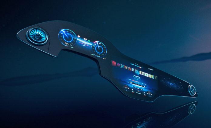 Mercedes представил самую технологичную приборную панель на рынке