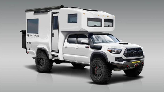 TruckHouse представили уникальный гибрид BCT для поездок на природу