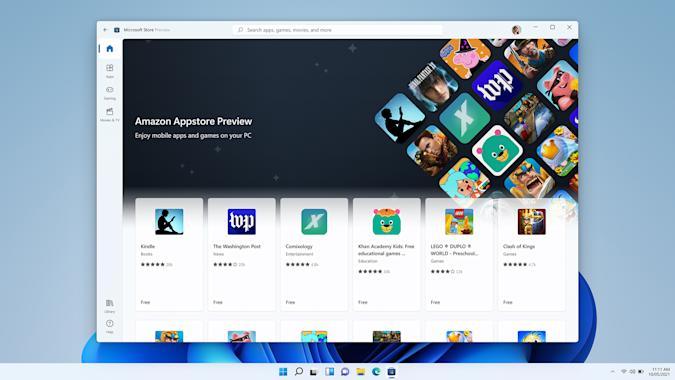 Пользователи Windows 11 могут протестировать 50 Android-приложений