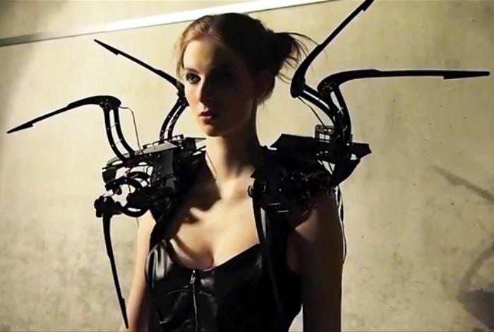 платье робот
