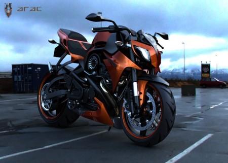 Мотоцикл ARAC ZXS