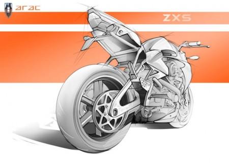 компактный мощный мотоцикл