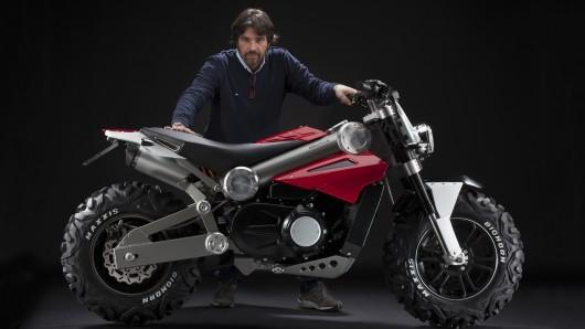 Мотоцикл от Алессандро Тартарини