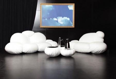 диван облака