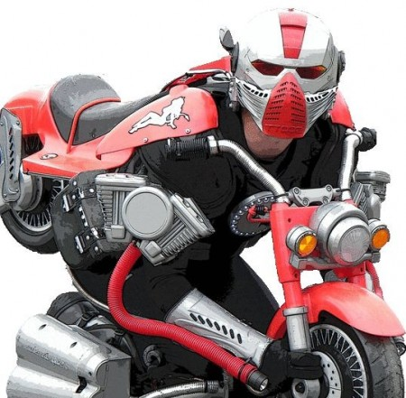 костюм-двигатель
