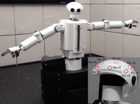 Робот с отличным слухом