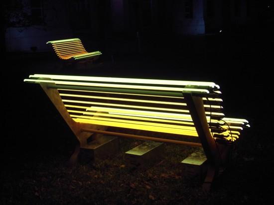Скамейка с подсветкой своими руками 85
