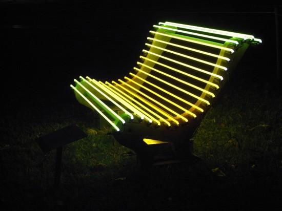 Скамейка с подсветкой своими руками 18