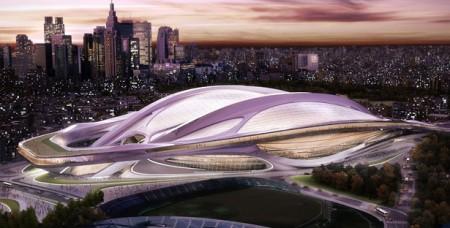 японский национальный стадион