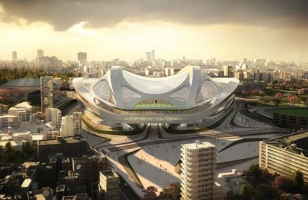 красивый дизайн стадиона