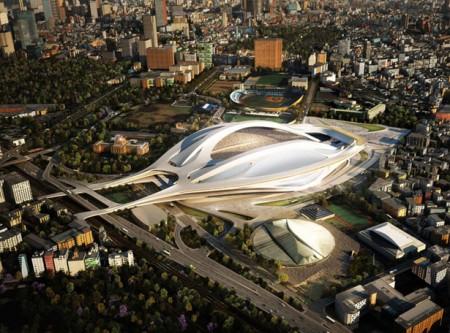 проект японского стадиона