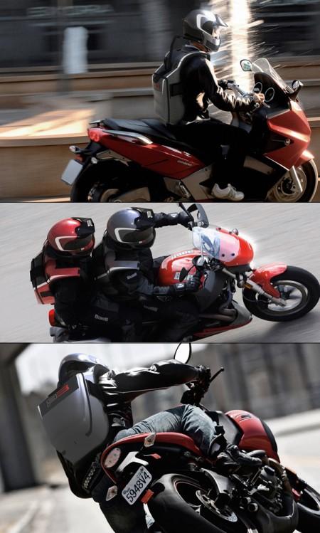 система защиты мотоцикл