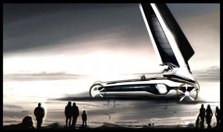 сухопутная яхта